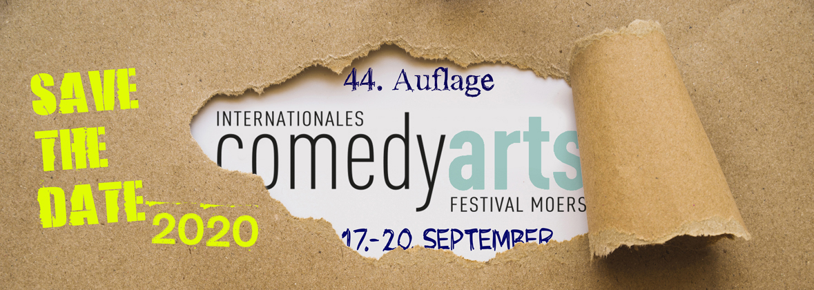 ComedyArts 2020 – Save the date